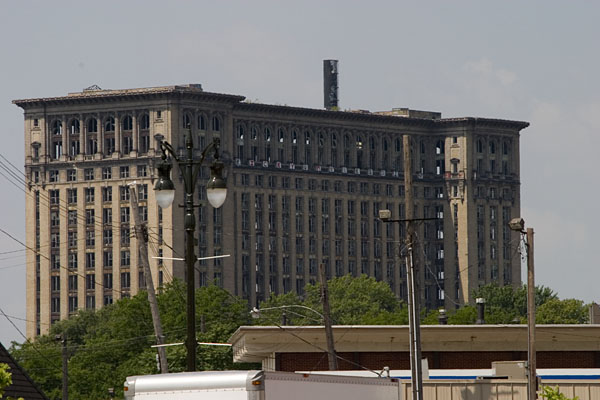 Old detroit train station 1977 quotes